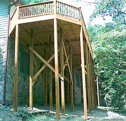 artecbois terrasses en bois en hauteur