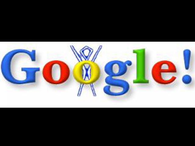El primer Doodle de Google