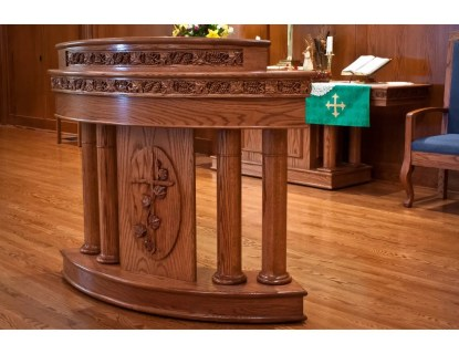 chancel area furnishings artech church interiors