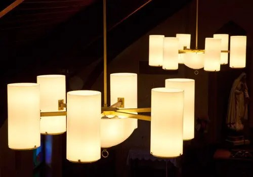 Painting Interior Light Fixtures