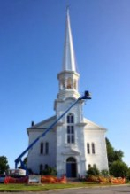 Competition-crane-steeple