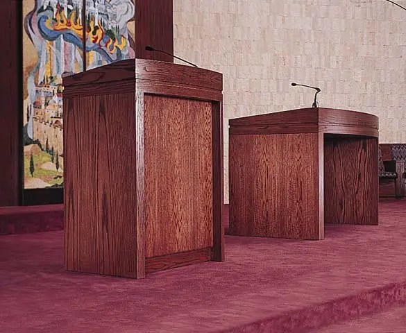 Temple Adath Bema Podiums