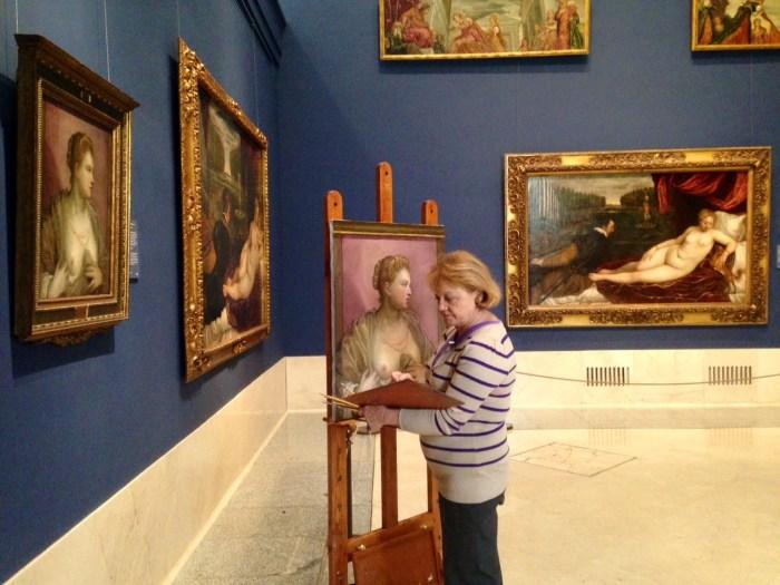 Rosa_Perez_Valero_copista_museo_del_prado_tintoretto_seno