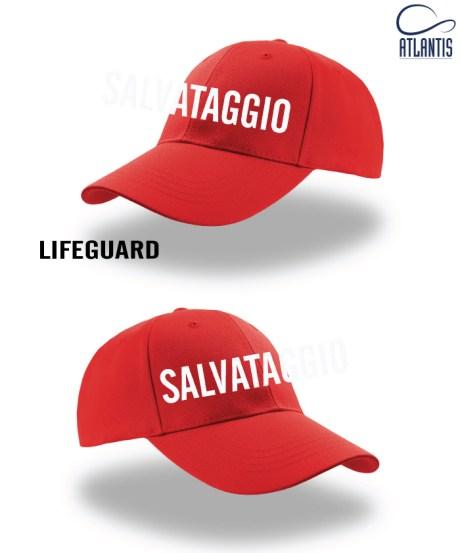 Cappellino salvataggio lifeguard