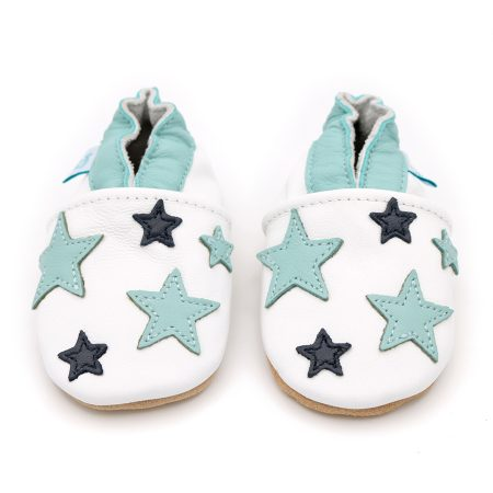 Dotty Fish Twinkle Hat & Shoe set scarpine e cappellino