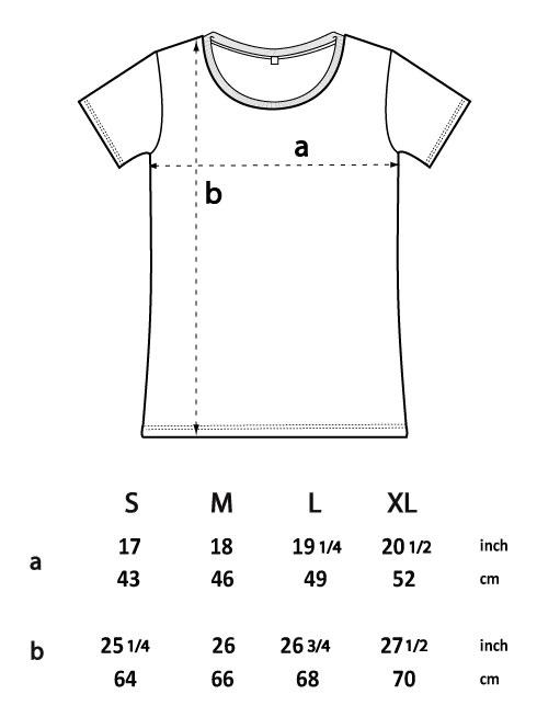 T-shirt cotone biologico donna