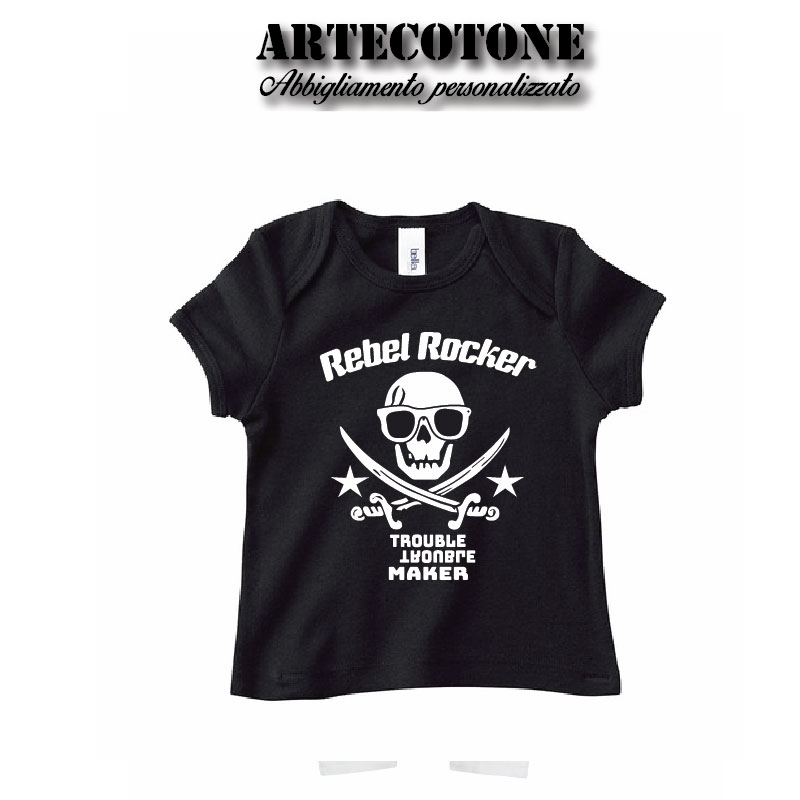 T-shirt baby rebel Rocker