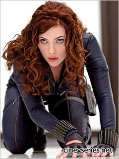 Scarlett Johansson es Black Widow