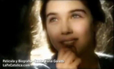 Película y biografía de Santa María Goretti