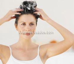 Jugo de Zanahoria, Alfalfa y Lechuga para Fortalecer el cabello