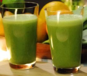 Jugo Nutritivo y Desintoxicante de Naranja, Nopal y Alfalfa