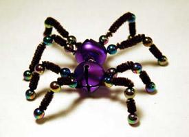 araña para halloween
