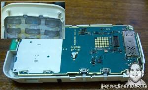 Placa y teclado Nokia 5200