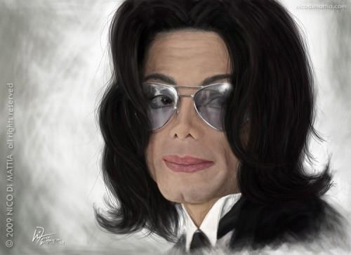 Michael Jackson por Nico Di Mattia