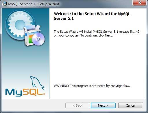 Instalar MySQL