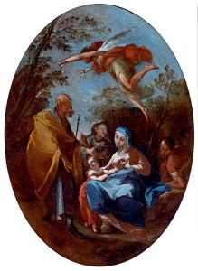 La Sacra Famiglia - Francesco Maria Raineri