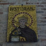 S. Apollinare nuovo - l'imperatore Giustiniano