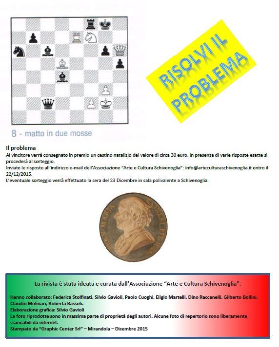 problema scacchi