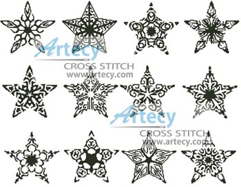 Artecy Cross Stitch Stars Cross Stitch Pattern To Print