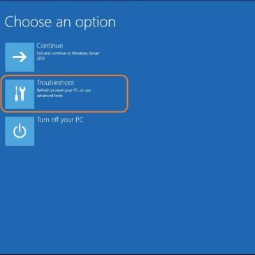 Reparando Boot do Windows Server 2008/2012