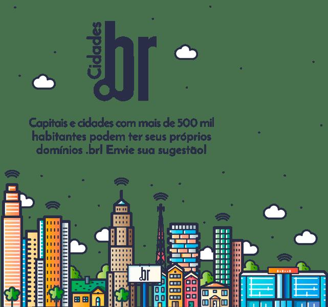 Novo registro de domínio .br para cidades: belem.br