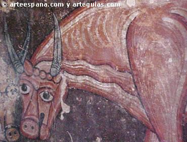 Pintura románica. San Baudelio de Berlanga