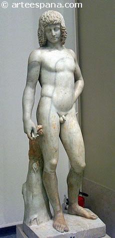 Renacimiento Italiano: Adolescente desnudo. Anónimo. Alrededor de 1500