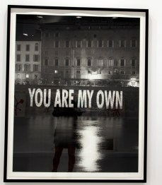 Jenny Holzer you are my own 2006? Cheim & Read