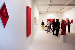 Rosso ! Le parti pris du rouge à la galerie Tornabuoni Arte ( Firenze, Milano, Paris)