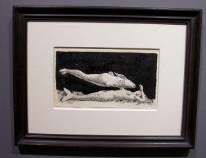 dessin de Magritte - Galerie Natalie Seroussi