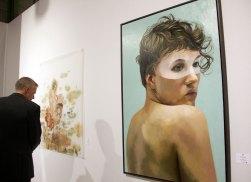 Markus-Akesson-et-Sarah-Jerome-à-la-galerie-Da-End