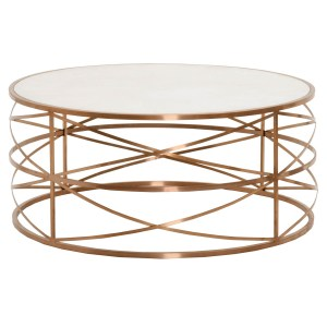 Melrose Coffee Table – Rose Gold – 2