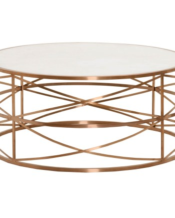 Melrose Coffee Table - Rose Gold - 2