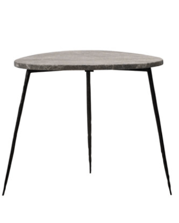 OLIVO-SIDETABLE-20'-GREY-MARBLE-TOP-T