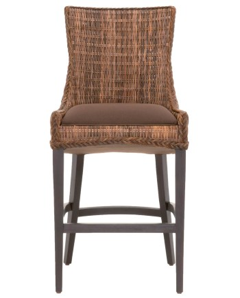 Greco Barstool - Brown Weave Wicker - 1
