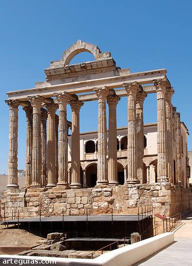 Mérida: Templo de Diana