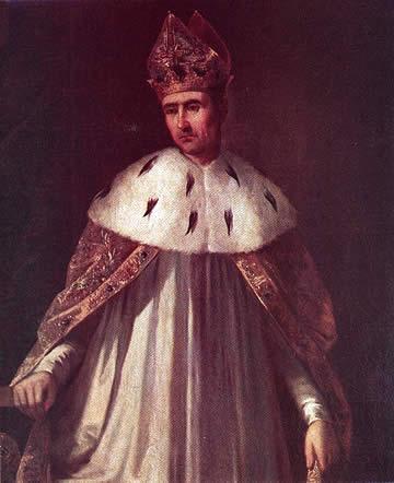 Retrato de Ramiro II de Aragón, apodado el Monje