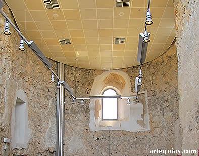 Ábside de la iglesia de Calatrava la Vieja
