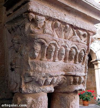 Capitel de Alquézar. Huesca