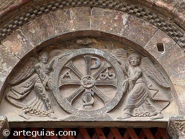 Capitel del Claustro de San Pedro el Viejo de Huesca
