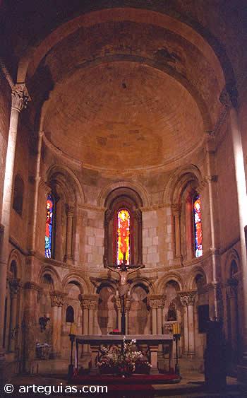 Ábside central de San Millán. Segovia