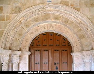 Portada de Colina de Losa. Merindades de Burgos