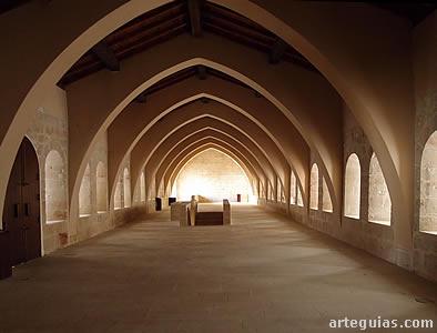 Dormitorio de los monjes