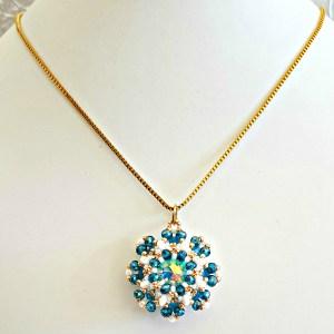 Art. 72 AZZURRO - OCEAN -tecnica Tessitura di perline -@ Milky Beads bijoux - Euro 29.00 (3) OK SI FB
