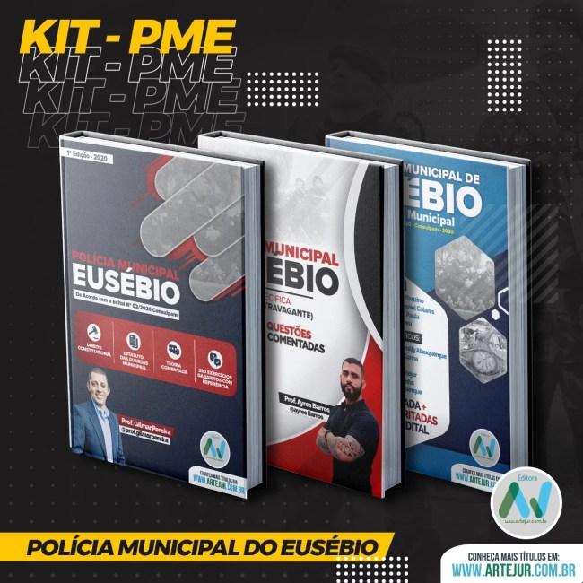 Kit PME – Policia Municipal do Eusébio – 2020