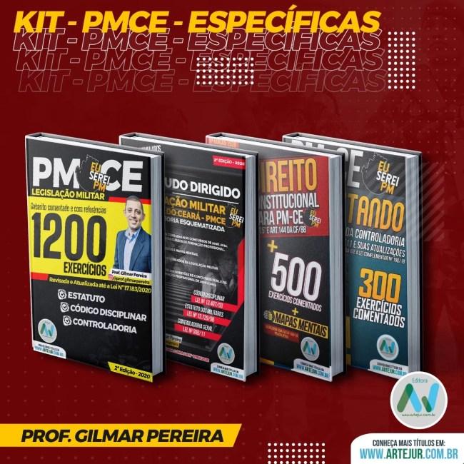 Kit Específicas da PMCE – Legislação + Constitucional – Prof. Gilmar Pereira