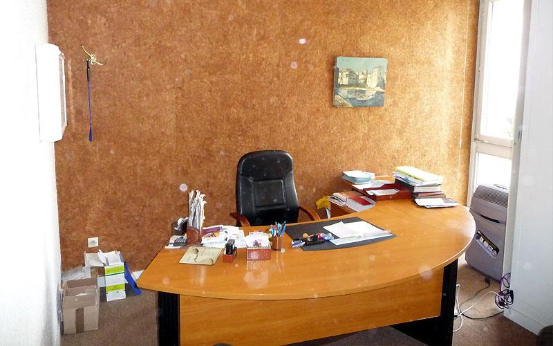 le bureau du cabinet avant renovation