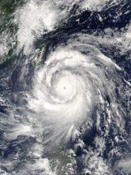 Typhoon Meranti satellite image