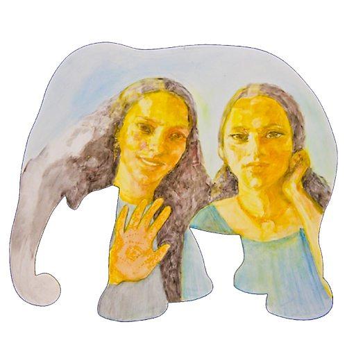 sagoma elefante rita
