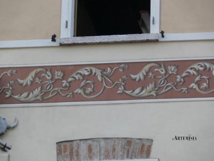 Greca decorativa casetta Mantovana.